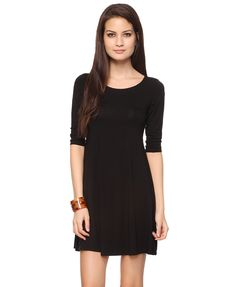 Curved Waist Dress | FOREVER21 - 2000036079