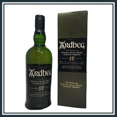 This Ardbeg 17 year old is discontinued so very rare as supplys run low so buy yours today for from Whisky Collectables! Ardbeg Whisky, Distillery, Scotch, Year Old, Champagne, Bottle, Plaid, One Year Old, Age