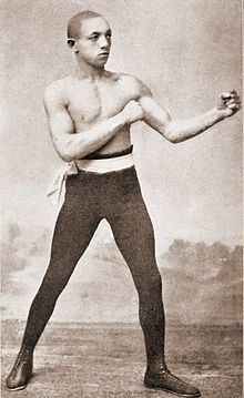 George Dixon, first Black Canadian professional boxer and first world boxing champion and first Black to hold world title in any sport