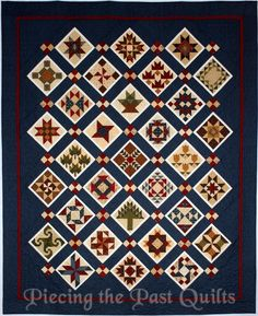 Piecing the Past Quilts: 2015 Block of the Week