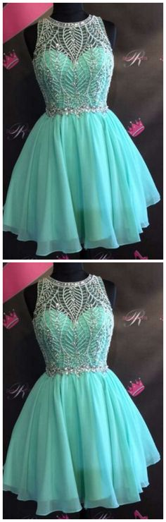 Charming Prom Dress,Elegant Prom Dress,Tulle Prom Dresses,Short Prom Gown,Beaded Homecoming Dress