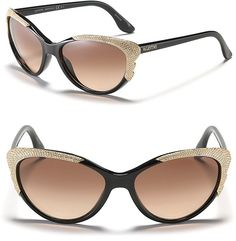 Valentino Crystal Wing Cat Eye Sunglasses for Sale