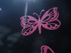 Large Glitter Vinyl Decal Bow for car window by CeeJaysDecals, $14.00