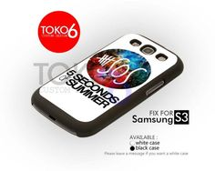AJ 4174 5SOS Logo Nebula - Samsung Galaxy S III Case | toko6 - Accessories on ArtFire