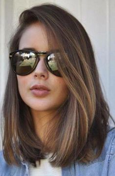 66 beautiful long bob hairstyles with layers for 2018 Best Picture For long hair cuts ombre For Your Low Maintenance Haircut, Haircut For Thick Hair, Haircut Medium, Haircut For Medium Length Hair, Long Bob Hairstyles For Thick Hair, Straight Shoulder Length Hair Cuts, Haircuts For Medium Hair, Shoulder Length Hairstyles, Shoulder Hair Cuts