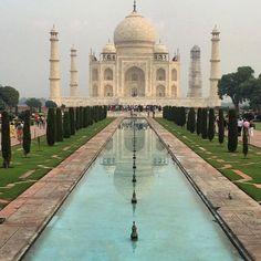 #mytajmemory #tajmahal #india #onceinalifetime #wonderoftheworld #travel #adventure #explore #marble #reflection #beauty #ancient #truelove #expressionoflove #forever by travels_with_v_ #IncredibleIndia #tajmahal