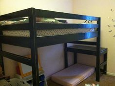 Junior loft bed   Do It Yourself Home Projects from Ana White
