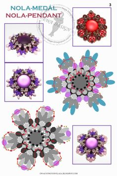 This would be pretty for earrings or rings.