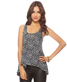 Leopard High-Low Tank