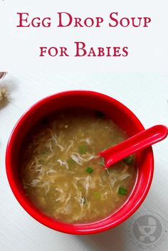 If your toddler is making a fuss about eating egg, here is an easy way to do it - with a warming Egg Drop Soup that's perfect for winters!