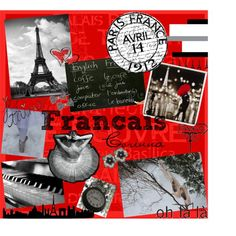 French Binder Cover