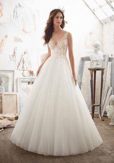 Mori Lee 2791 Beaded Ball Gown Wedding Dress