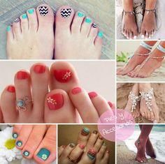 El Mundo de AiA: Accesorio Moda / Uñas - Ideas para nuestros pies