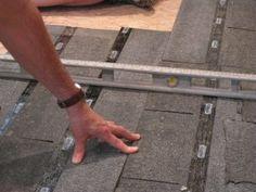 How to Level a Plywood or OSB Subfloor Using Asphalt Shingles & Construction Felt