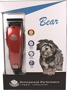 Furzone 606 Bear Pet Clipper * Learn more by visiting the image link. (This is an affiliate link and I receive a commission for the sales) Dog Grooming Clippers, Dog Itching, Dog Training Pads, Dog Dental Care, Dog Food Storage, Dog Shower, Dog Shedding, Dog Chew Toys, Dog Memorial