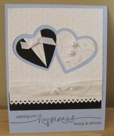 Stampin' and Scrappin' With Kristin: Bridal Shower Card