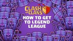 Clash of Clans Movies - How to get to Legend League - YouTube