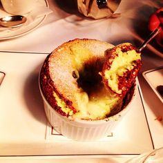 The Arts Club   Piccadilly   Pistachio souffle