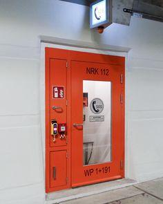 beispiel-tunnel-notrufkabine Fire Prevention, Kabine, Lockers, Locker Storage, Furniture, Home Decor, Fire Safety, Products, Decoration Home