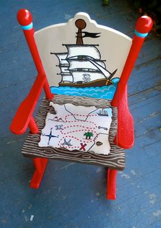 Pirate Rocking Chair