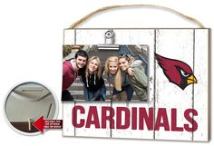 Hot new item just added today Arizona Cardinals.... Click here http://everythinglicensed.com/products/arizona-cardinals-clip-it-weathered-logo-photo-frame?utm_campaign=social_autopilot&utm_source=pin&utm_medium=pin take a closer look.