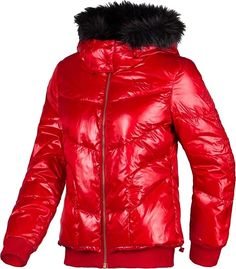 ADIDAS NEO SPORT DOWN JACKET RED BLACK M32279M32278 Red Leather, Leather Jacket, Adidas Neo, Red Black, Winter Jackets, Sports, Fashion, Studded Leather Jacket, Winter Coats