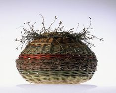 Lise Bech - Basketmaker .. These are absolutely beautiful!!!...