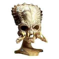 Busto Predator Réplica Calavera