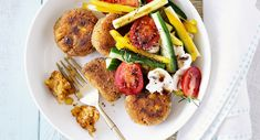 Give fish and chips a light and bright midday makeover that the whole family will love