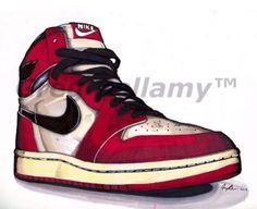Air Jordan I Art