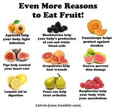 iTips: Even more reasons to eat Fruit (by 120-in-june.tumblr.com)