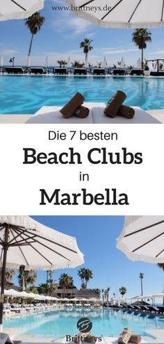 Schaue dir die 7 besten Beach Clubs in Marbella an. #Reisetipps #Spanien #Urlaub #Strand Marbella Beach, Beach Club, Malaga Beach, Granada, Valencia, Places To Go, Road Trip, Europe, World