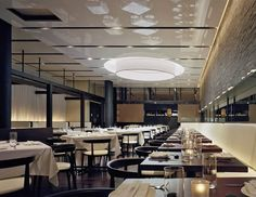 streched fabric ceiling restaurant miami commercial arch