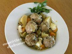 Γιουβαρλάκια με λαχανικά