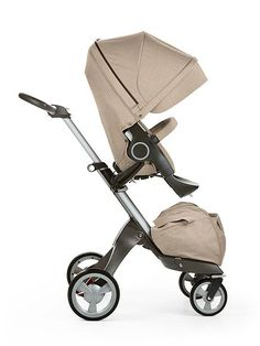 Top 10 Strollers via THE BUMP – Best City Stroller: Stokke Xplory