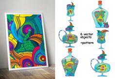 Magic drinks by Ola Tarakanova's shop on Creative Market
