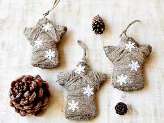 Ornaments – Christmas ornament Angel Xmas decoration – a unique product by bytckkatya on DaWanda