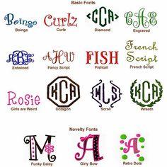 Free Monogram Fonts | monogram fonts | Flickr – Photo Sharing!