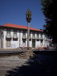 O pelourinho da cidade de Pinhel (Foto: Geoppp)