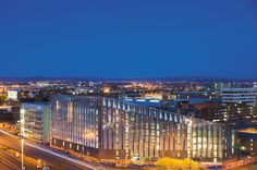 The new Manchester Metropolitan University business school.