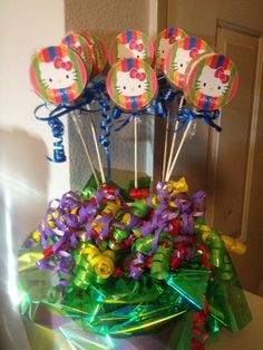 hello kitty cookie bouquet