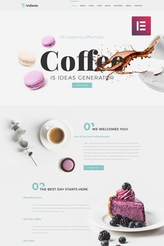 Arabusta - Coffeehouse Elementor WordPress Theme, #Coffeehouse #Arabusta #Elementor #Theme #WordPress