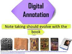 Digital Fluency, starting with digital annotation by Anne-Mart Olsen, via Slideshare