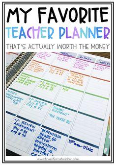 Is an Erin Condren Teacher Lesson Planner Really Worth the Money? | True Life I'm a Teacher