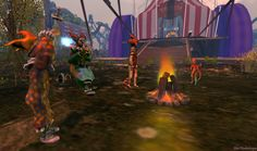 Anansi - The Circus  Read all about it  on a Rodenbergsk View Visit this location in SecondLife