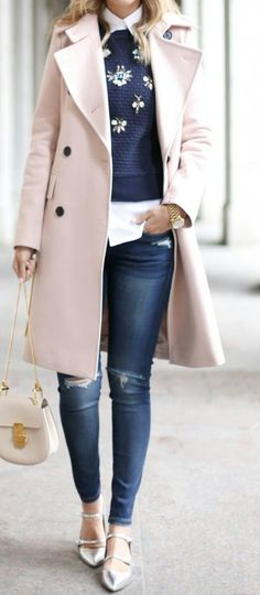 winter outfits coat Herbstmode, warm bleiben in de - winteroutfits Winter Outfits For Work, Casual Winter Outfits, Stylish Outfits, Fall Outfits, Winter Dresses, Winter Clothes, Winter Office Outfit, Early Spring Outfits, Stylish Clothes