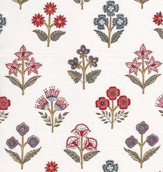 fabrics 40 trendige Blumenmuster Design Retro # Blumen Landscapes Of Scotland: Glencoe Glencoe's spr Flower Pattern Design, Motif Design, Pattern Art, Textile Design, Flower Patterns, Flower Designs, Indian Patterns, Textile Patterns, Textile Prints