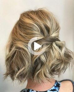 If you've been waiting for a sign to go shorter, this is it. #easyhairstyles Long Curly Wedding Hair, Hairdos For Short Hair, Cute Simple Hairstyles, Layered Bob Hairstyles, Short Hair Styles Easy, Short Hairstyles For Women, Down Hairstyles, Short Hair Cuts, Easy Hairstyles