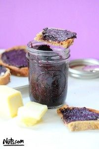 Blueberry Chia Seed Jam with Toast