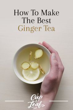 How to Make Ginger Tea Even Better With 6 Recipe Variations – Cup & Leaf – Healthy Drinks Detox Drinks, Healthy Drinks, Healthy Recipes, Nutrition Drinks, Healthy Detox, Healthy Food, Healthy Juices, Cough Remedies For Adults, Kombucha